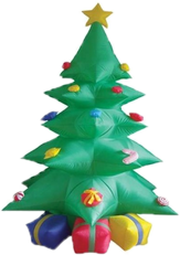 christmas tree outdoor decorations