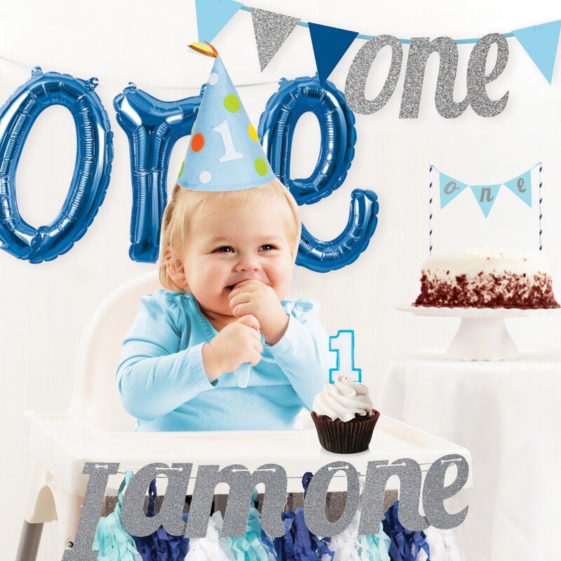 The Party Aisle Boys First Birthday Decoration Kit Reviews