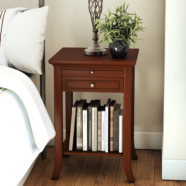 andover mills american heritage end table with storage u0026 reviews wayfair