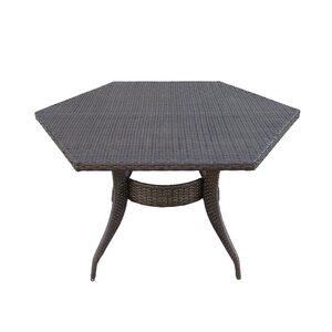 Shanika Wicker Dining Table