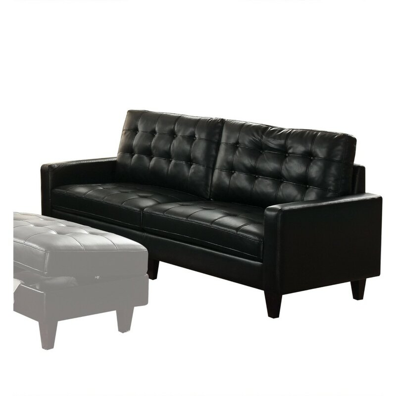 Meltzer Transitional On Tufting Sofa