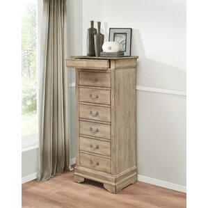 corbeil 6 drawer lingerie chest