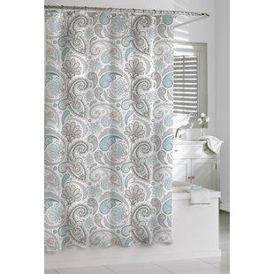Paisley Cotton Shower Curtain