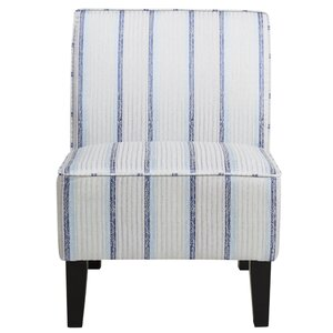Englewood Striped Slipper Chair