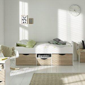 Tolga Single Bed with Drawers