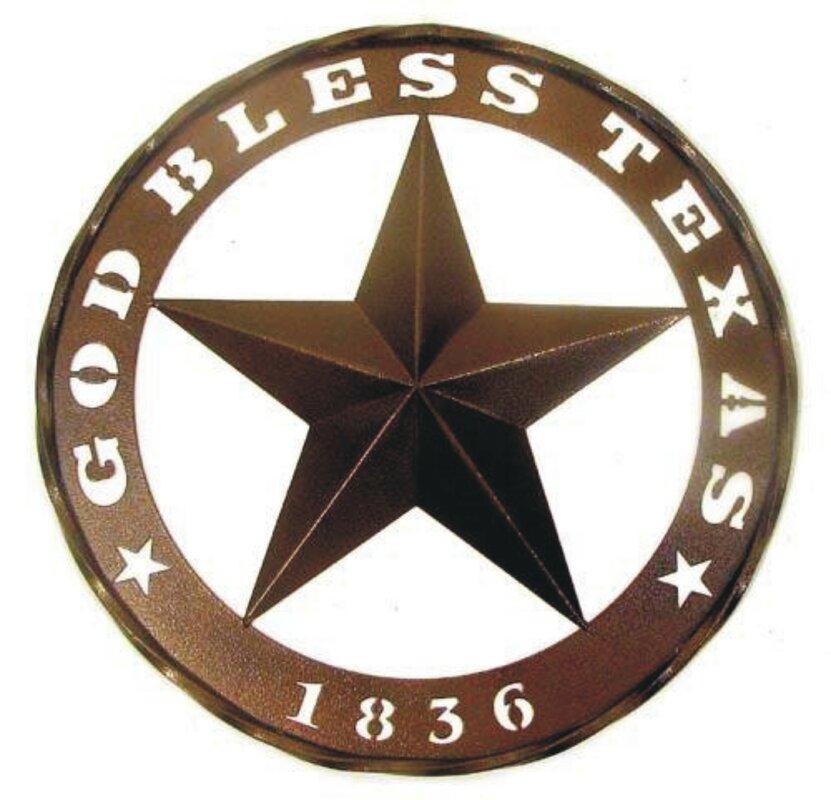 God Bless Texas And 1836 Star Wall Décor Part 26