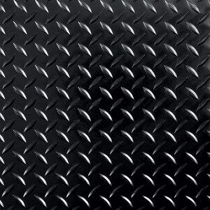1 ft. x 1ft. Garage Flooring Roll in Black