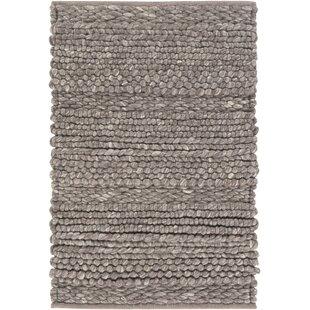 Jocelyn Handwoven Wool Brown Area Rug