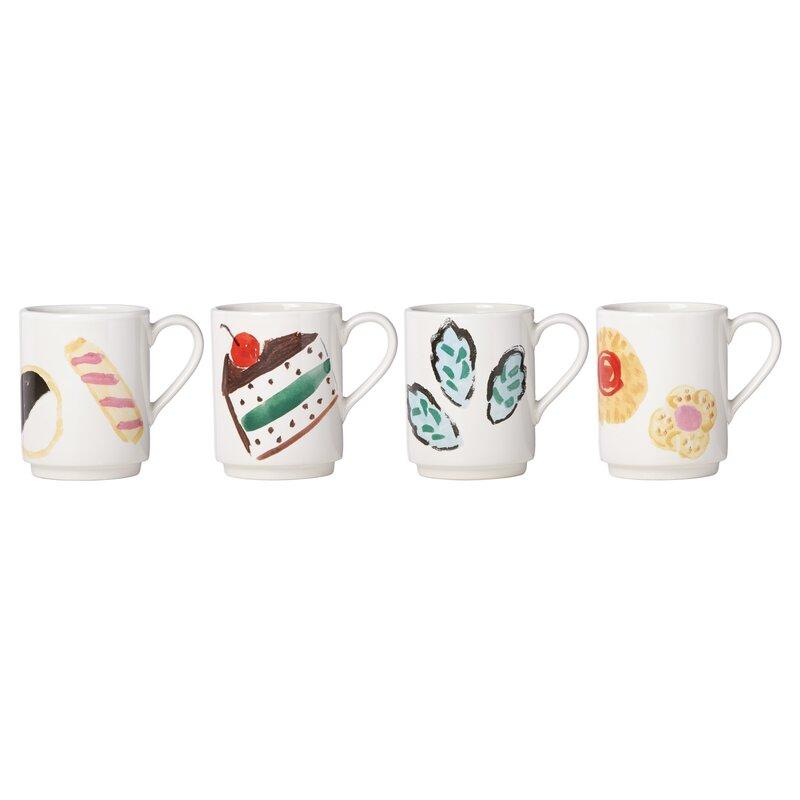 smart idea porcelain coffee mugs. All in Good Taste One Smart Cookie Stacking Mug kate spade new york