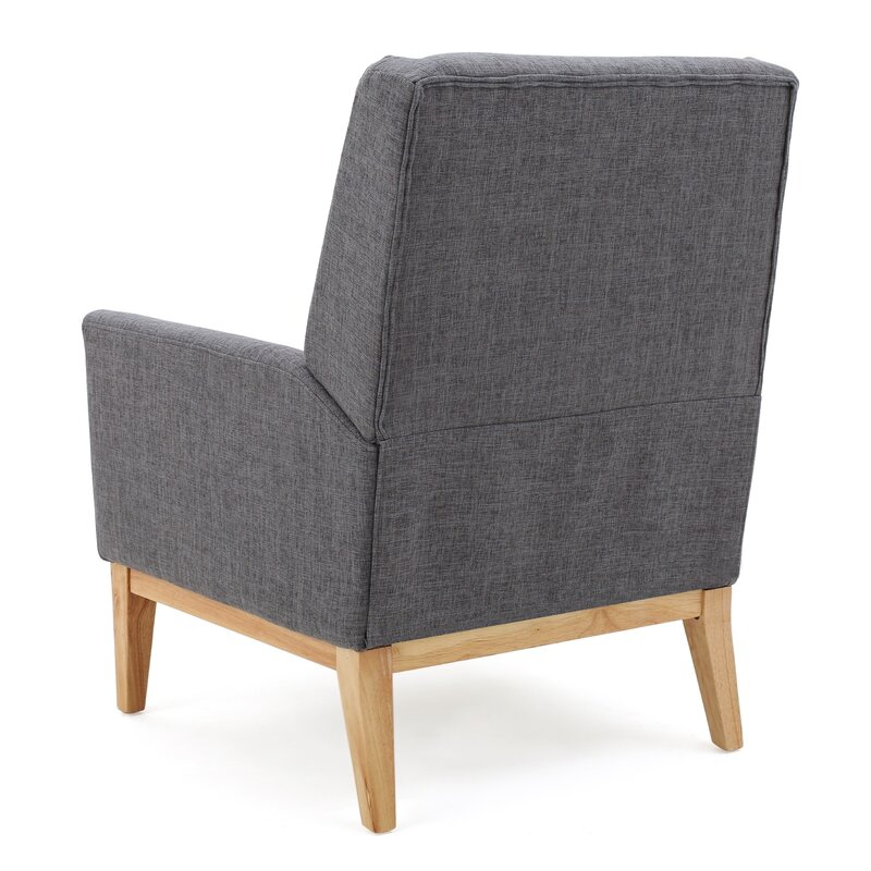 Attractive Thierry Wingback Armchair