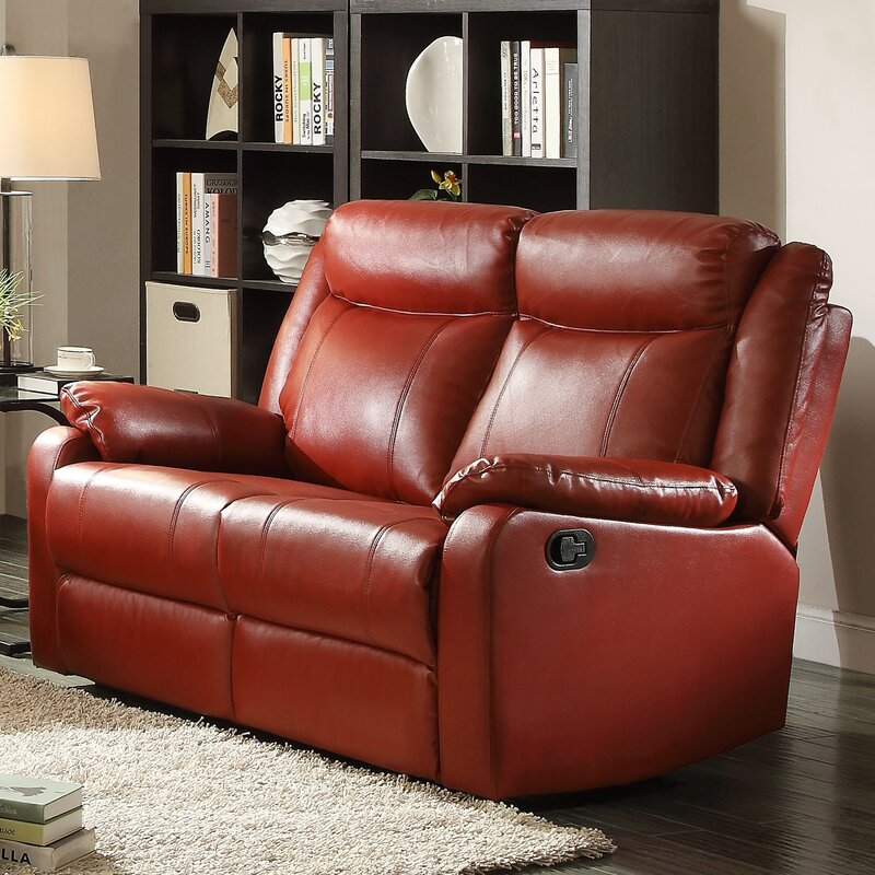 Roudebush Double Reclining Loveseat : double reclining loveseat - islam-shia.org