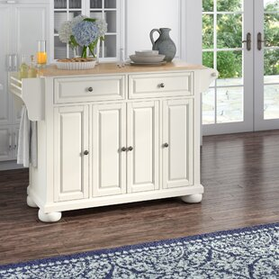 kitchen island table on wheels wood quickview kitchen islands carts youll love wayfair