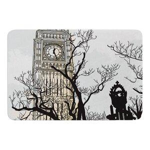 Big Ben by Sam Posnick Bath Mat