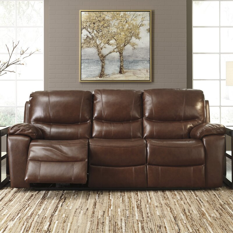 Boehme Leather Reclining Sofa Part 63