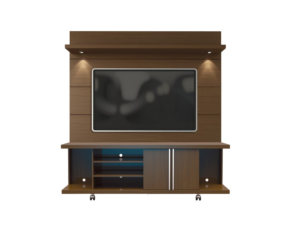 Wade Logan Lucca 71 Quot Tv Stand And Floating Wall Tv Panel
