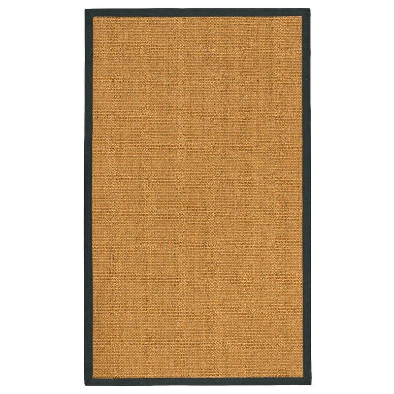 August Grove Escalante Hand-Woven Beige Area Rug, Size: Rectangle 6 x 9