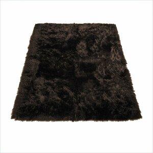 Animal Brown Area Rug
