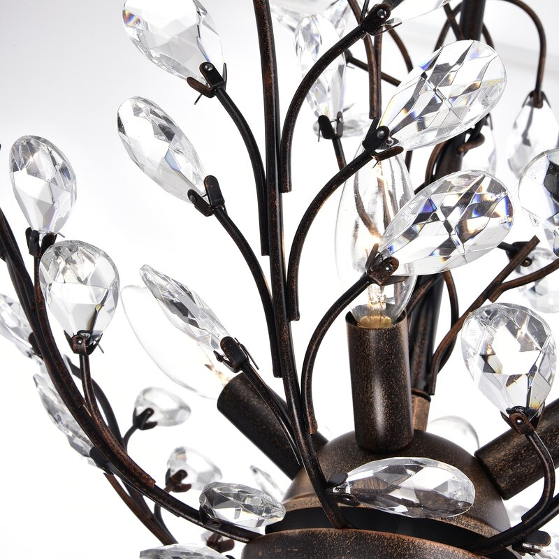 Willa Arlo Interiors Alijah 4 Light Led Candle Style Chandelier
