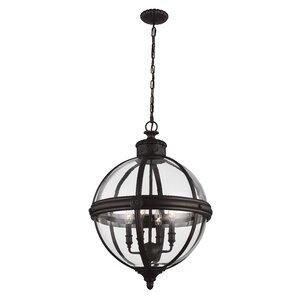 Adams 4-Light Globe Pendant