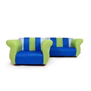 Kids Sofa And Chair Set Wayfair