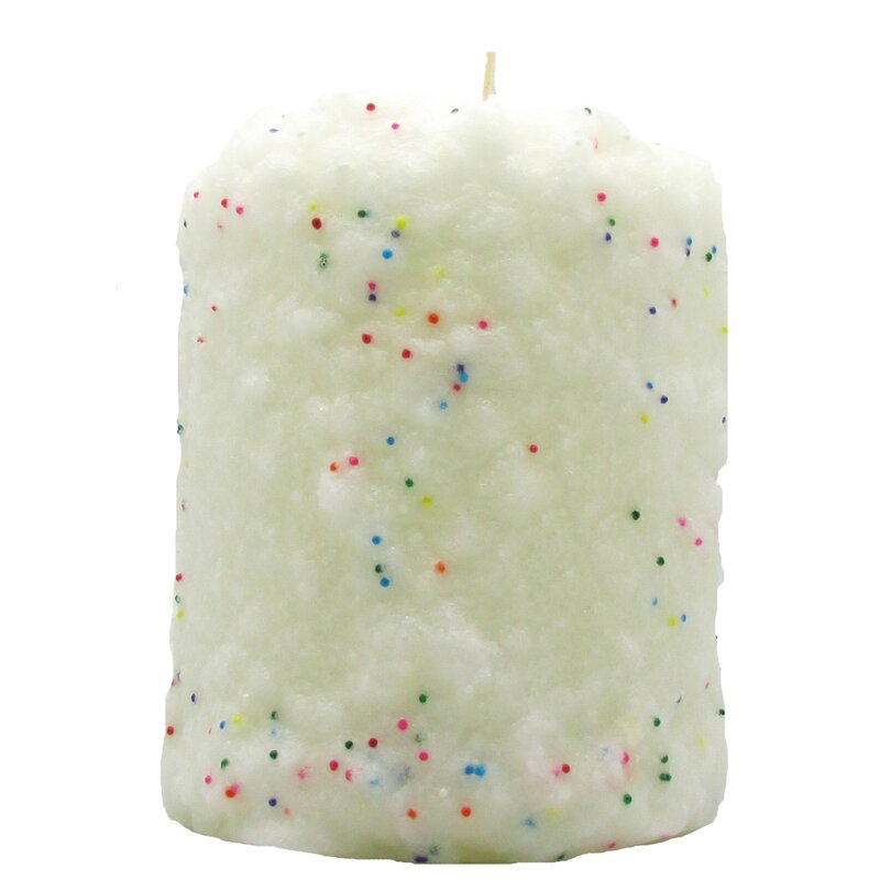 StarHollowCandleCo Birthday Cake Scented Novelty Candle