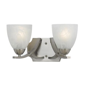 Finn 2-Light Bell Vanity Light