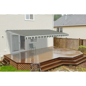 20 ft. W x 10 ft. D Retractable Patio Awning