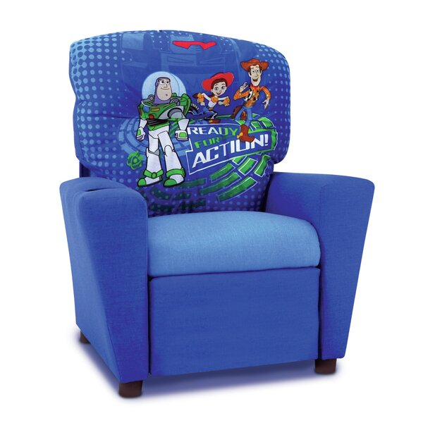KidzWorld Disney  Toy Story 3  Kids Recliner with Cup Holder u0026 Reviews | Wayfair  sc 1 st  Wayfair & KidzWorld Disney