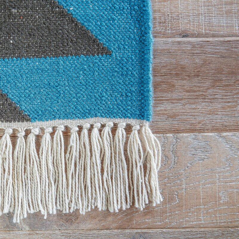 Valentina Blue Indoor/Outdoor Rug & Reviews | Birch Lane