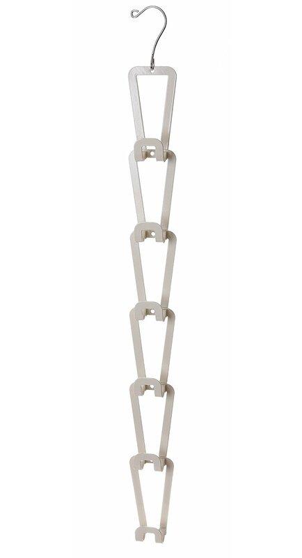 Rebrilliant Hanging Closet Rod Or Over The Door Organizer Wall Hook Wayfair