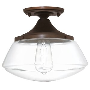 Arthur 1 Light Semi Flush Mount