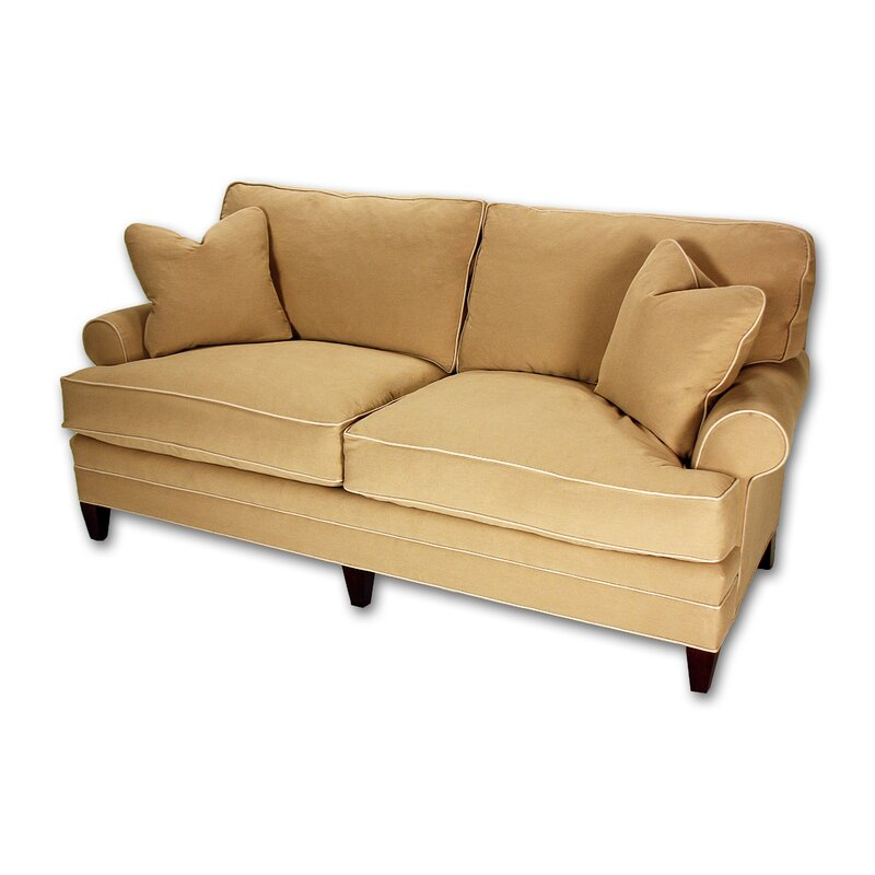 Loose Pillow Back Sofa: Classic Comfort Short Loose Pillow Back Sofa