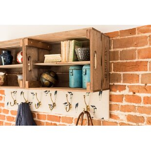 Double Apple Box Accent Shelf