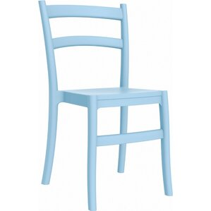 tiffany stacking dining side chair set of 2