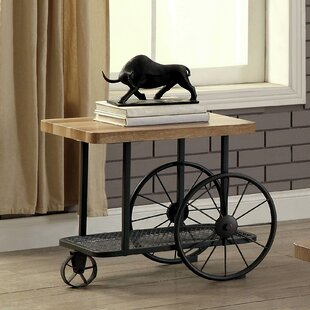 Beautiful Springport Industrial End Table