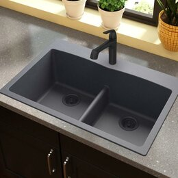 backed up kitchen sink kitchen sinks you ll wayfair 4243