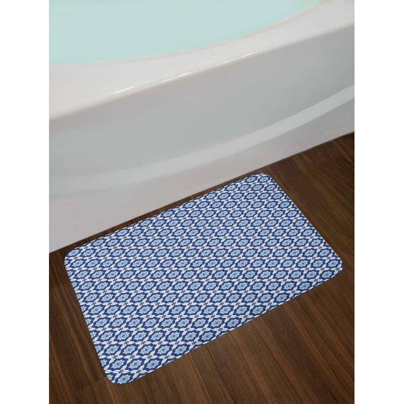 East Urban Home Azulejo Tile Pattern Diagonal Ceramic Pattern - Ceramic tile star designs