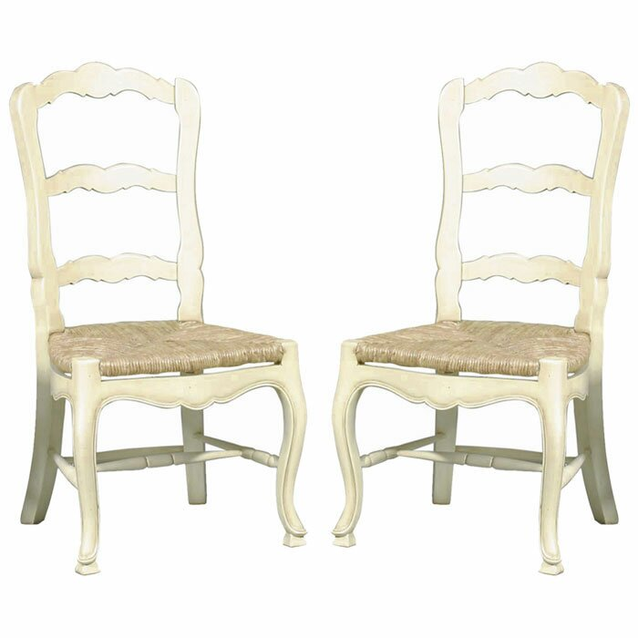 French Country Solid Wood Dining Chair