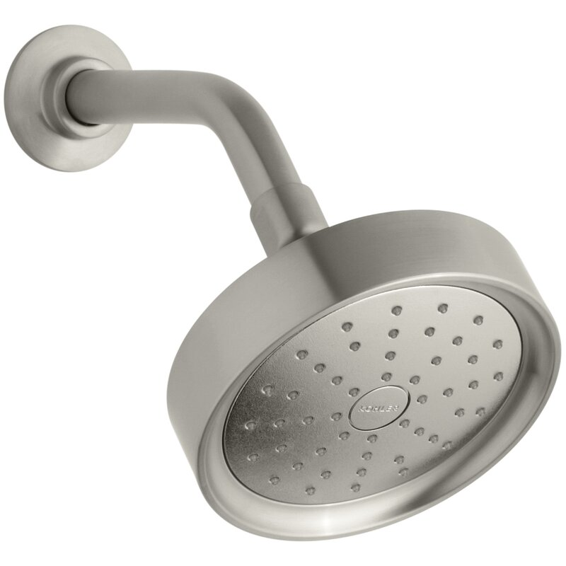 Kohler Purist 2.0 GPM Single-Function Shower Head with Katalyst Air-Induction Spray and Katalyst Air Induction Spray