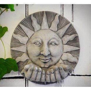 Sun Hand Garden Wall Décor
