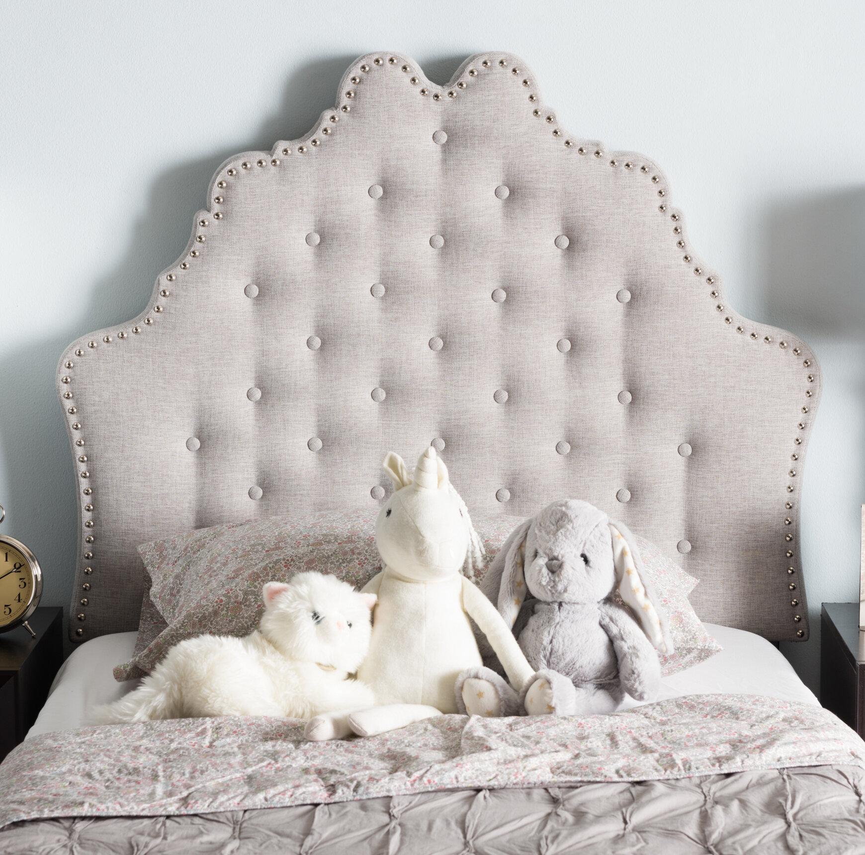 Charlton Home Hopkinsville Upholstered Panel Headboard & Reviews - Wayfair