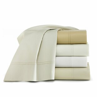 Lyric 500 Thread Count Egyptian Quality Cotton Fitted Sheet