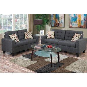 Grey Living Room Sets You\'ll Love | Wayfair