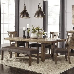 dining room table set. Etolin 6 Piece Extendable Dining Set Honey Oak  Wayfair