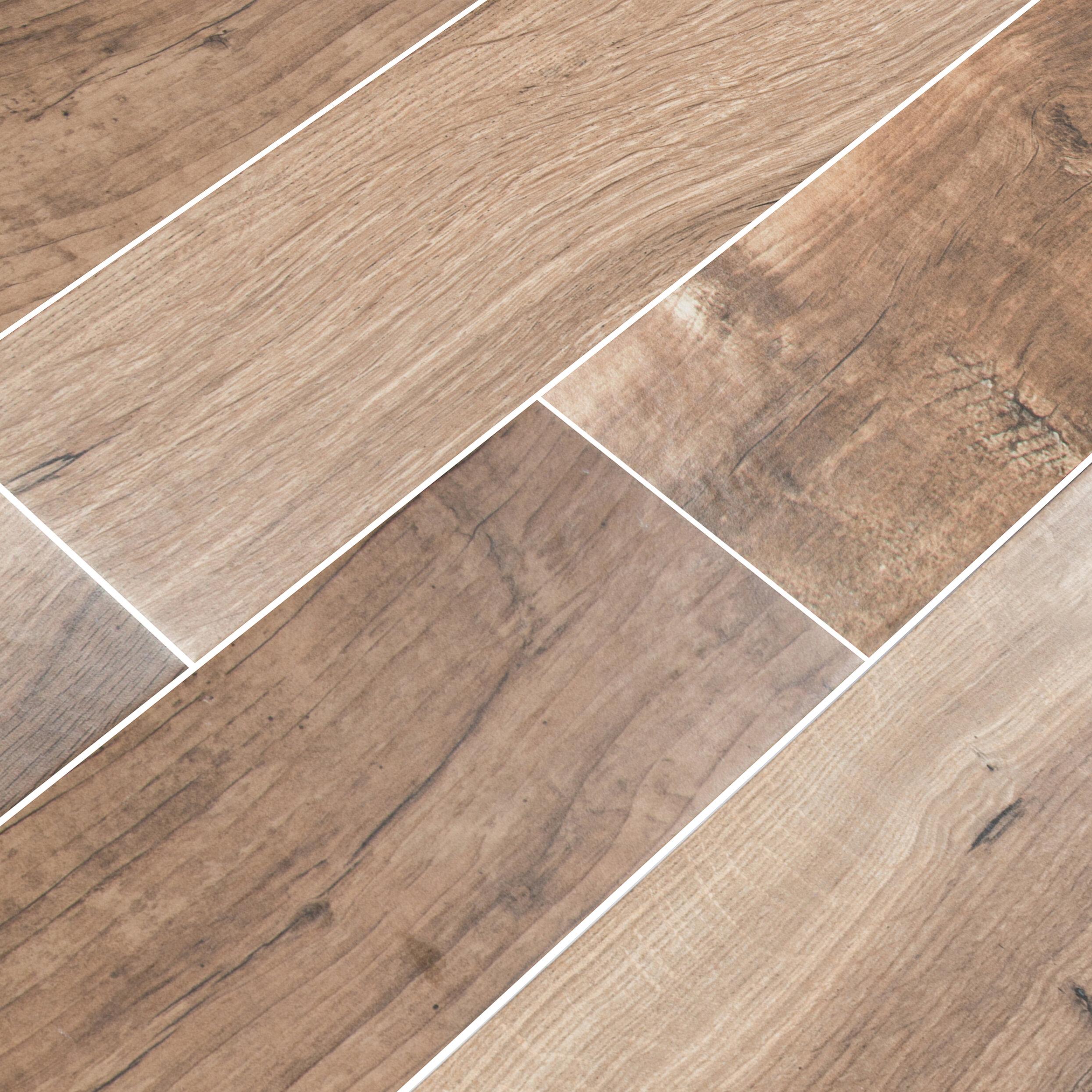 Msi Palmetto Cognac 6 X 36 Porcelain Tile Wood Look In Brown Wayfair