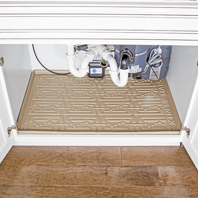 Under Sink Bathroom Cabinet Drip Tray