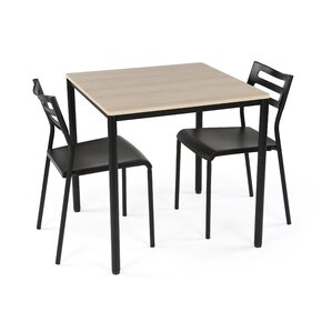 Recinos 3 Piece Dining Set by Varick G..