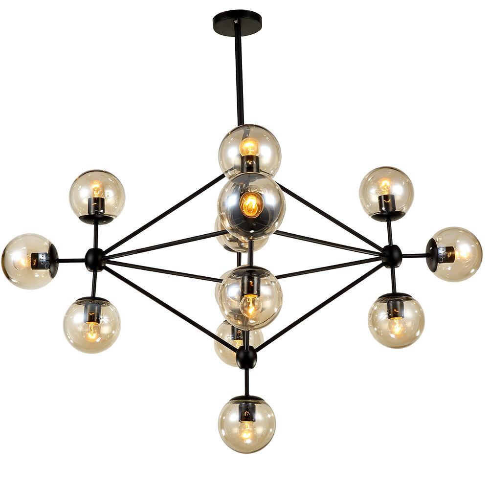 Dortch 15 Light Sputnik Chandelier
