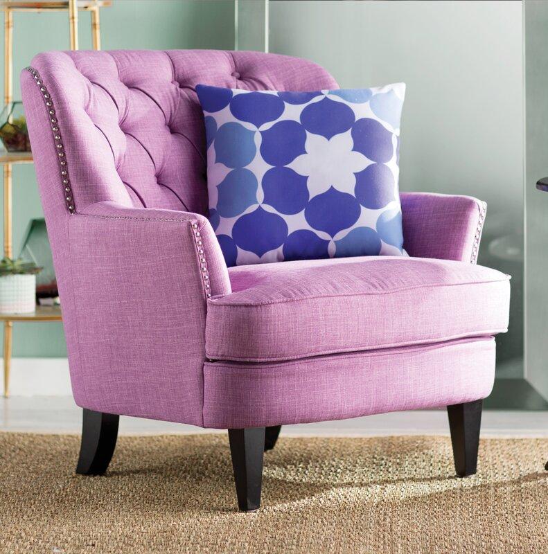 Lark Manor Parmelee Wingback Chair & Reviews | Wayfair