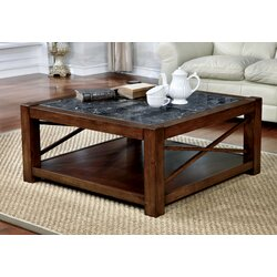 Transitional Coffee Tables red barrel studio brandenburg transitional square coffee table